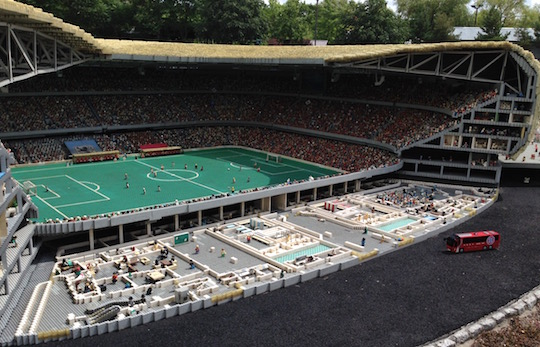 Legoland Germany - Allianz Stadium