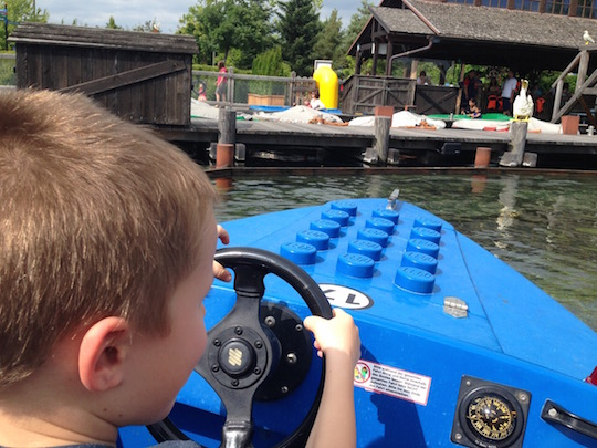 Legoland Germany - boat ride