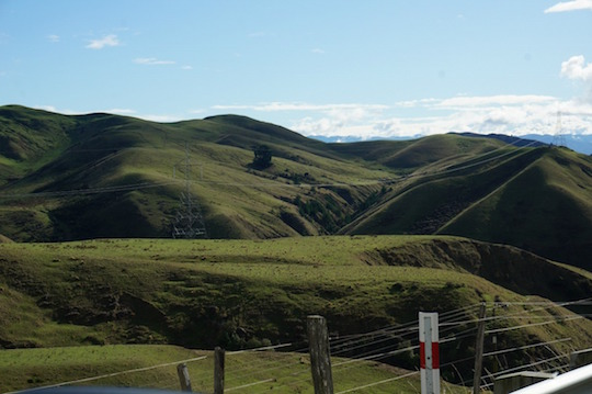 Views on drive to Picton, South Island, New Zealand - itinerary with kids and a campervan