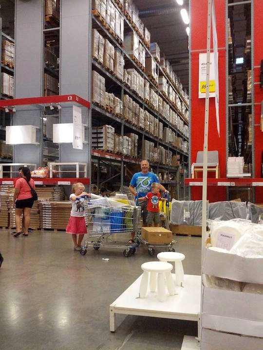 Ikea in Bangkok suburbs - living in Thailand with kids