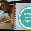 My travel journal confession feature