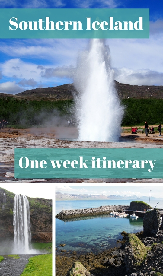 Southern Iceland itinerary