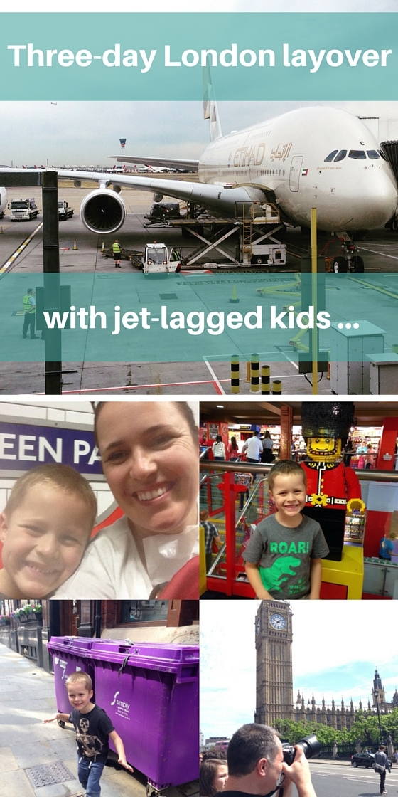 Three-day London layover with jet-lagged kids