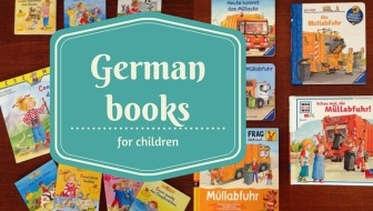German books for kids: How can I teach my children German?