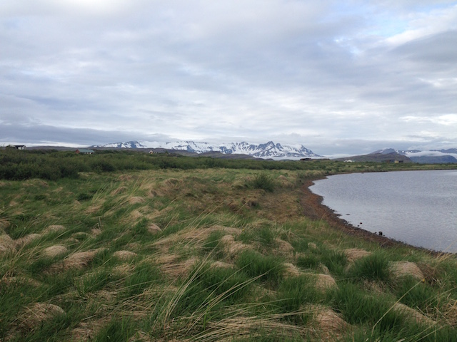 Not finished with Iceland - lake close to Borgarnes