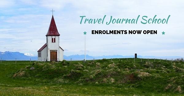 Travel Journal School ENROLMENTS NOW OPEN