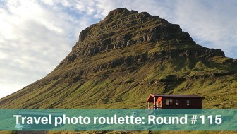 Travel photo roulette - home away from home