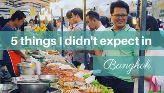 5 things I didn't expect in Bangkok (and 3 I did)