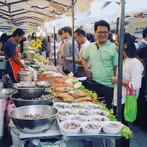 Things I did expect in Bangkok - delicious food