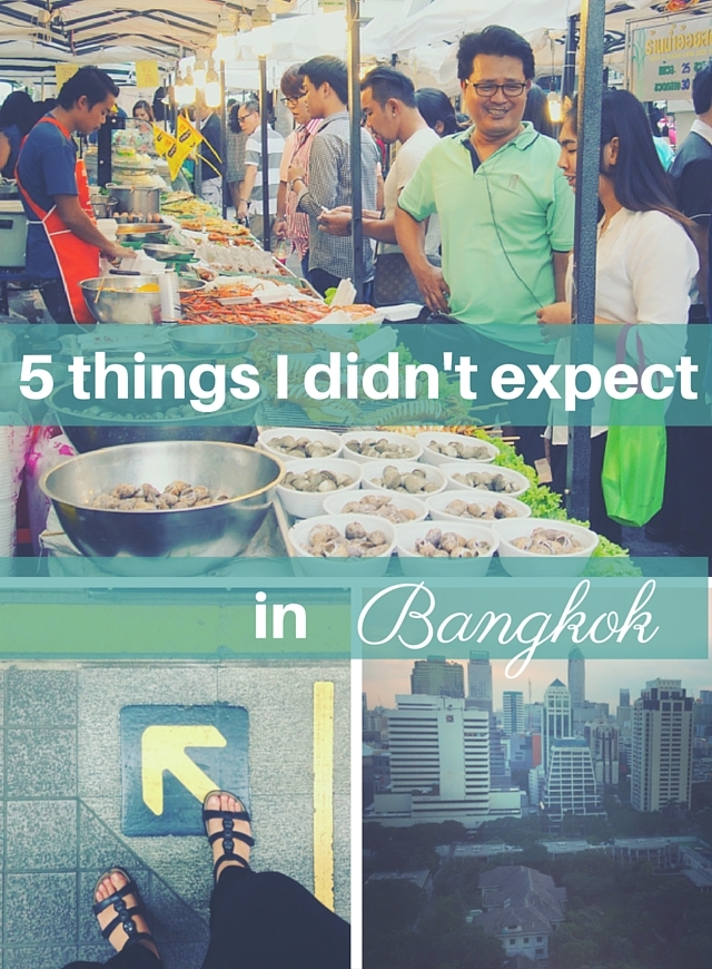 Things I didn't expect in Bangkok