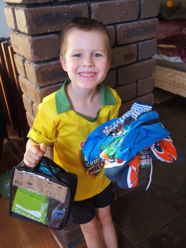 Scrubba Wash Bag review - one kid and his dirty clothes