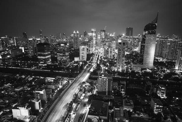 Downtown Jakarta, Indonesia