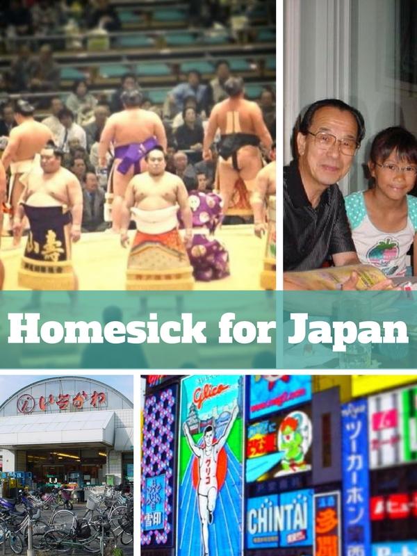 Homesick for Japan