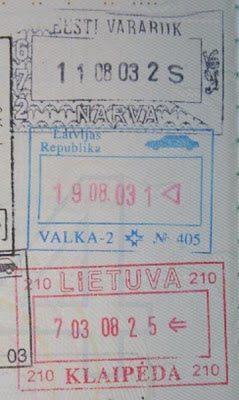 19 passport stamps and the stories they tell about my travels 19 passport stamps hopping through the baltic states ccuart Images