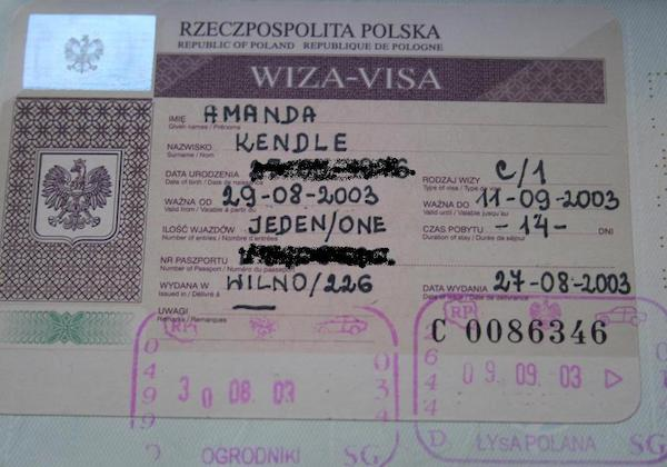 19 passport stamps and the stories they tell about my travels 19 passport stamps getting a polish visa ccuart Images