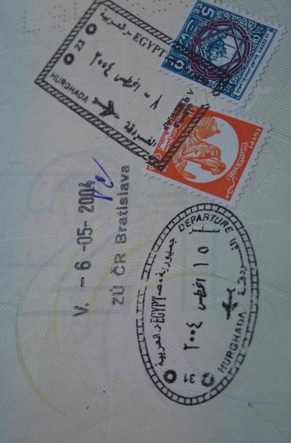 19 passport stamps and the stories they tell about my travels 19 passport stamps getting stuck in egypt ccuart Images