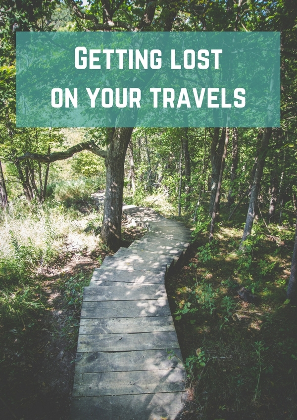 Getting lost on your travels