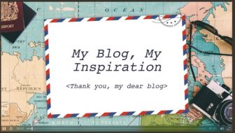 My travel blog is my inspiration