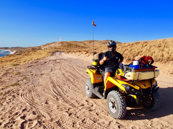 Coral Coast expands comfort zone - quad bike trip
