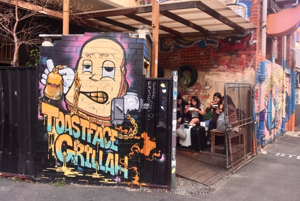 Toastface Grillah in Perth, Western Australia