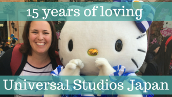 15 years of Universal Studios Japan in Osaka