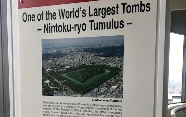 Emperor burial mounds in Sakai