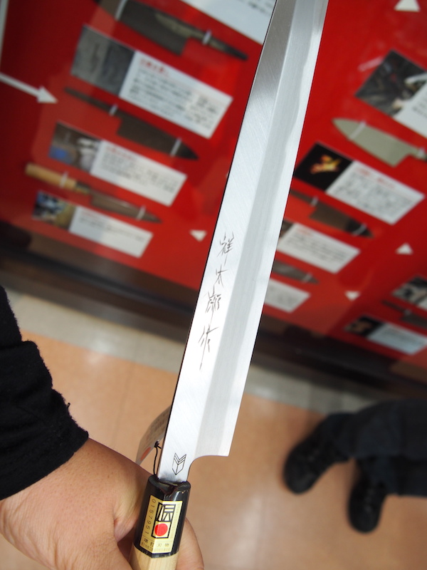 Knives at the Sakai City Traditional Crafts Museum