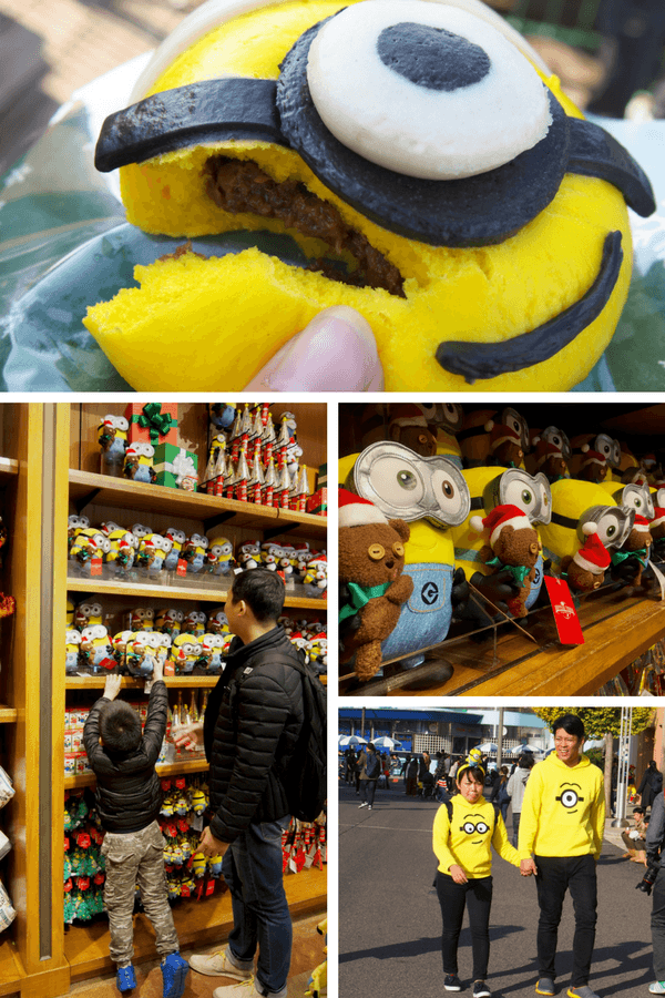 Minions at Universal Studios Japan in Osaka