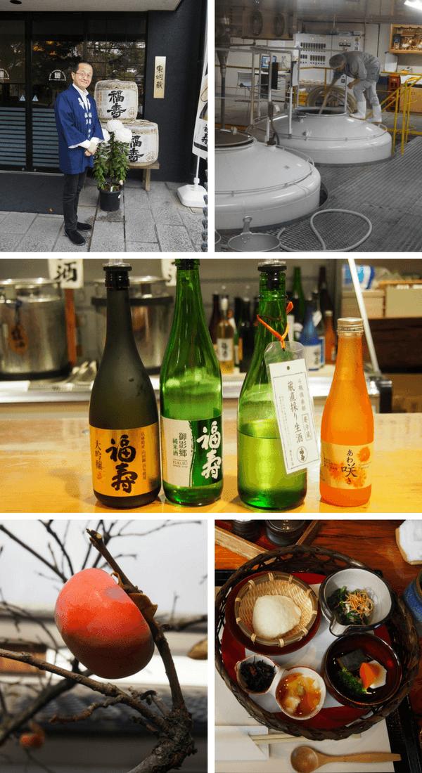 Shushinkan Brewery making Fukuju Sake