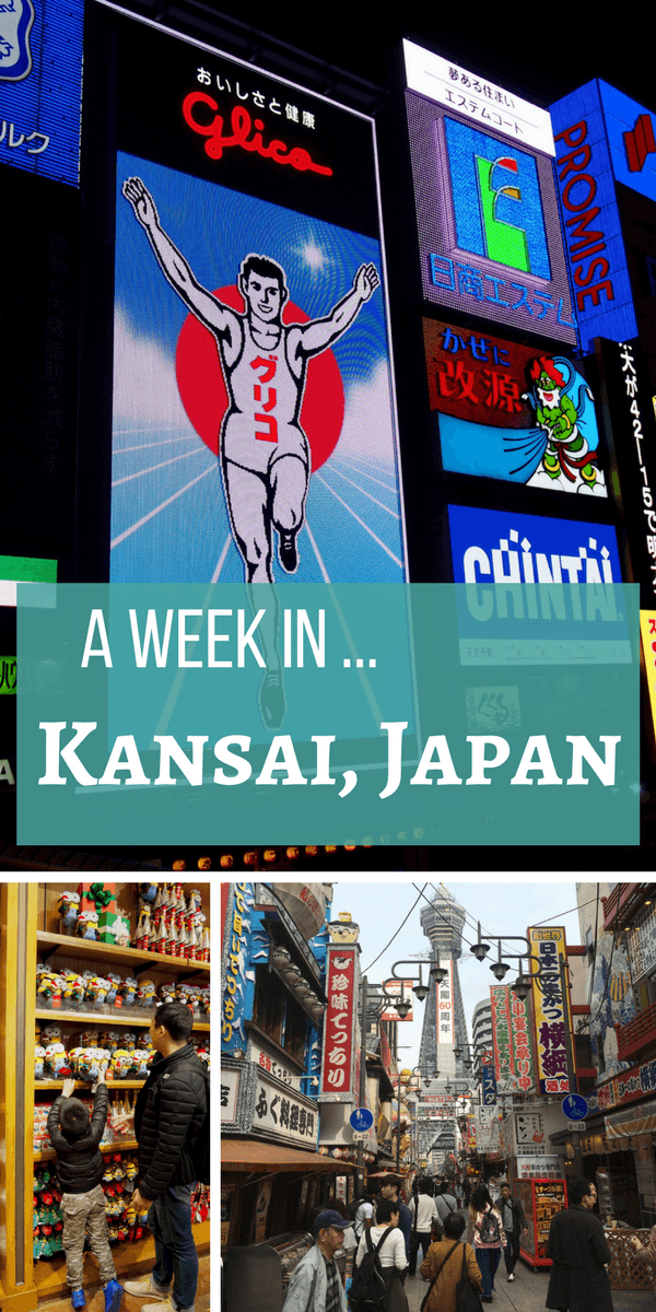 A Week In Kansai, Japan