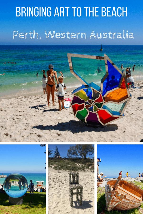 Bringing art to the beach in Perth, Western Australia