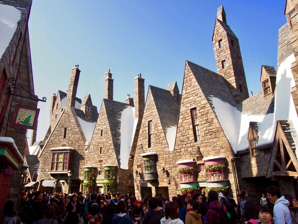 Wizarding World of Harry Potter at Univeral Studios Japan