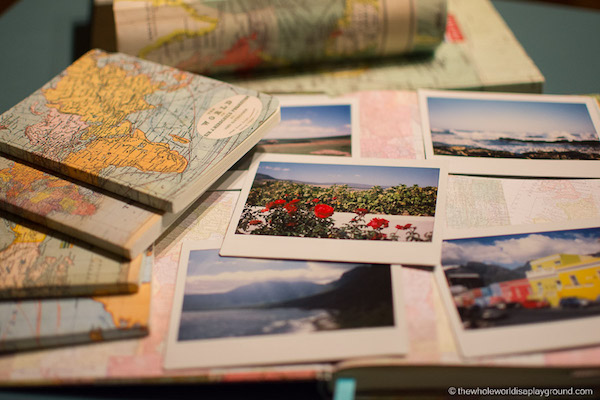 Paper journal travel diaries