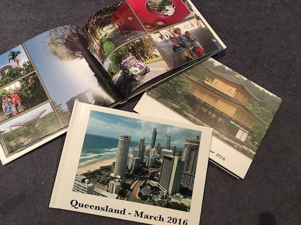 Photo books for travel memories