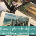 Travel journals, photo books, story maps and more travel memory makers
