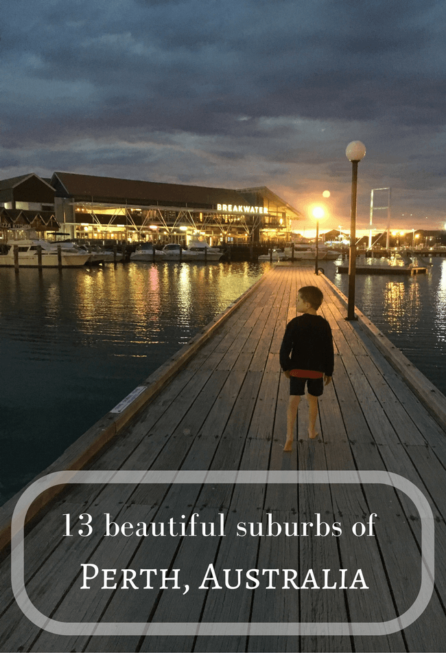13 beautiful suburbs of Perth, Western Australia