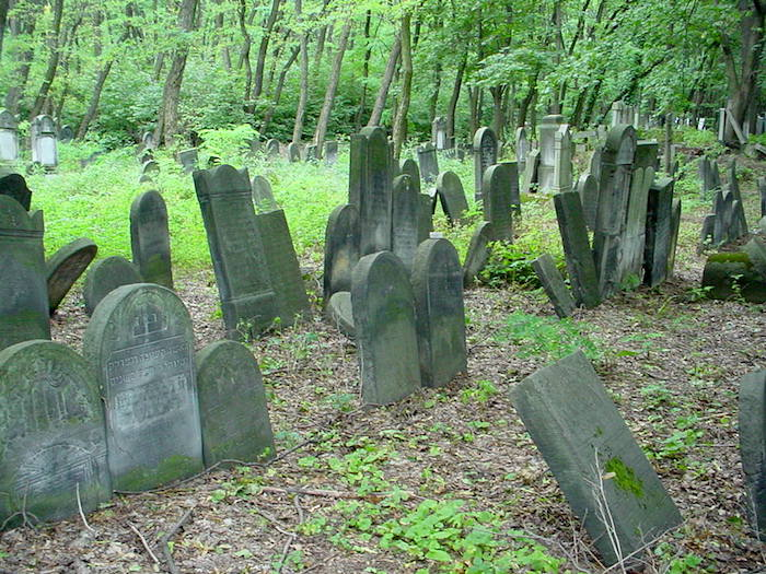 Warsaw Jewish Cemetery Gravestones