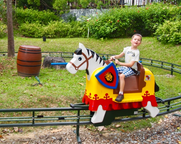 Legoland Malaysia Attractions Horse Ride