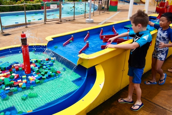 Legoland Malaysia Water Park Boat building