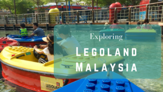 Exploring Legoland Malaysia slowly with a seven-year-old boy