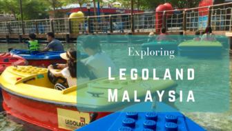 Exploring Legoland Malaysia with a boy