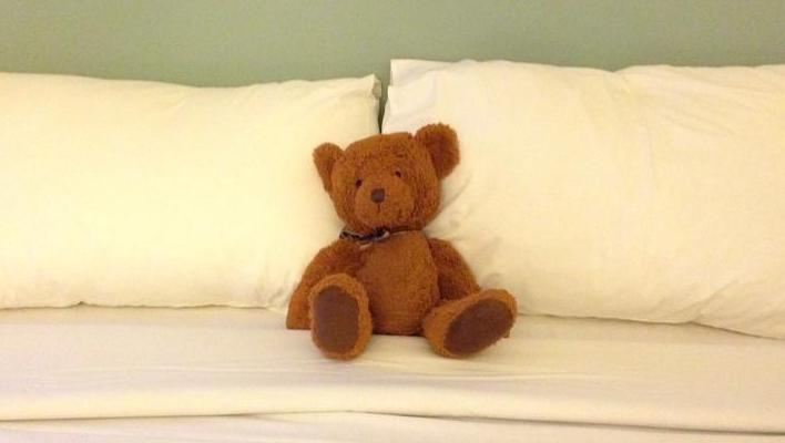Travels with kids and Jack the toy bear