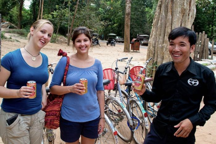 Kindness of strangers in Cambodia for The Thoughtful Travel Podcast