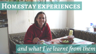 Lessons from homestay experiences around the world