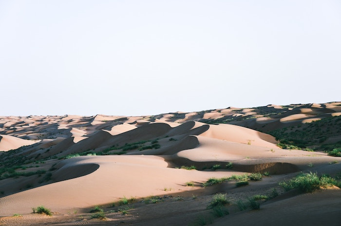 Off the beaten path in the desert dunes of Oman