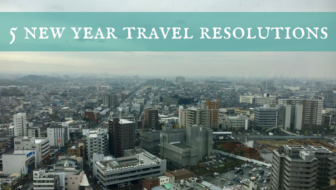 Five new year travel resolutions