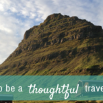 What is thoughtful travel?