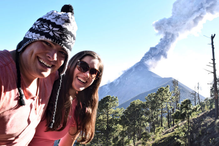 Trip planning and lessons from travel - climbing a volcano in Guatemala