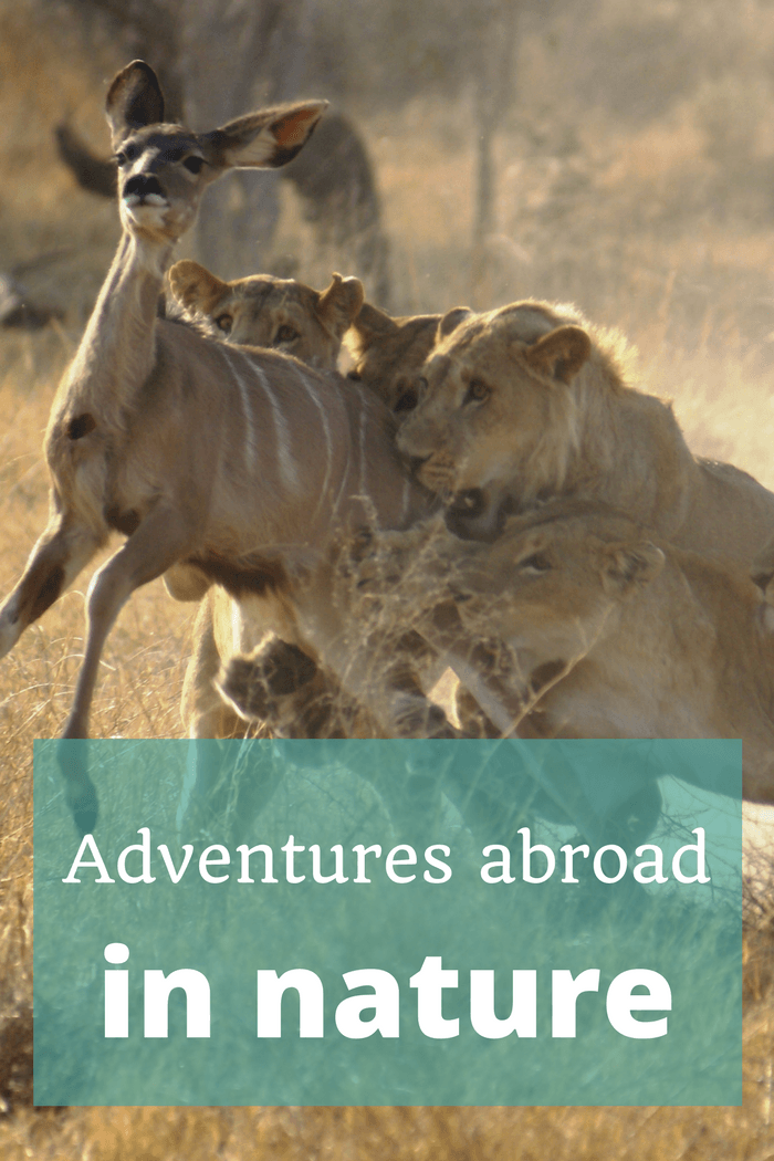 Adventures abroad in nature - The Thoughtful Travel Podcast