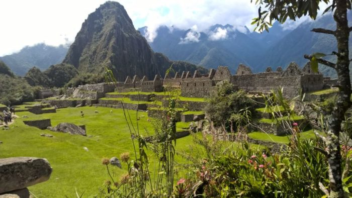Ros and Alan's experiences include a trip to Machu Picchu